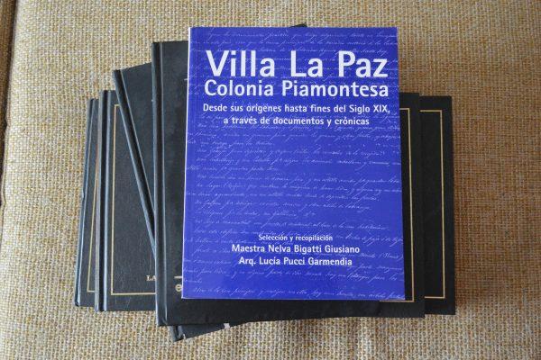 Publicación del libro Villa La Paz. Colonia Piamontesa 2007