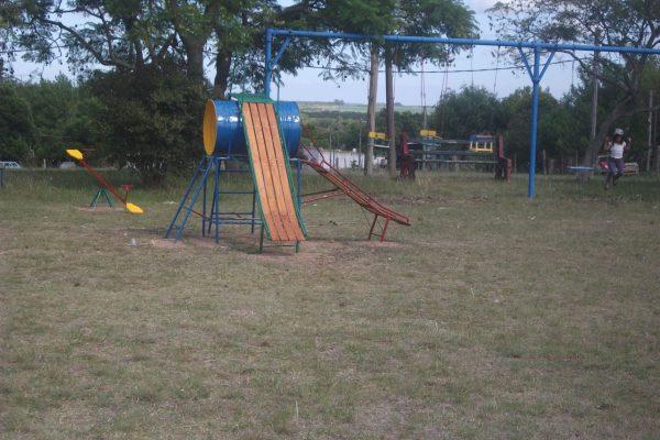 Juegos infantiles. Plaza de deportes. Conchillas 10